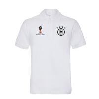2018新款德国短袖队服上衣夏季新款翻领T恤男女款休闲半袖POLO衫