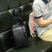 男士包包胸包男休闲斜挎包韩版潮流单肩包男皮运动小背包户外腰包