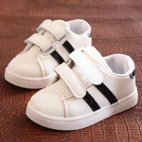 儿童板鞋 男女童秋季韩版潮流板鞋新款学生贝壳头运动小白鞋休闲鞋子中小童时尚童鞋