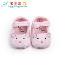 春秋宝宝凉鞋0-6-12个月学步单鞋软底步婴儿鞋子男女