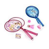 儿童羽毛球拍双拍大圆头球拍套装2只装3-8岁男女童户外