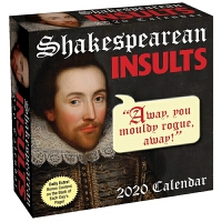 2020日历 莎士比亚 SHAKESPEAREAN INSULTS 2020 DAY-TO-DAY CALENDAR