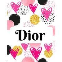 【预订】Dior: Personalized Journal with Blank Lined Paper
