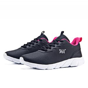 【低价直降】361度女鞋运动鞋2018秋季新款革面轻便休闲潮鞋跑步鞋女