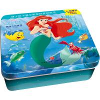 迪士尼卡通全明星铁盒拼图书――小美人鱼・爱丽儿的梦想
