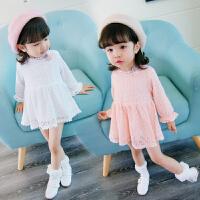 女童春秋上衣1-2岁半儿童打底衫婴儿衣服长袖 女宝宝T恤春装