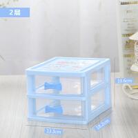 【新品特惠】桌面收纳柜透明抽屉式塑料小抽屉柜桌面小收纳盒药品盒手机配件盒
