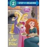 英文原版 儿童分级读物 Step Into Reading: Disney Princess: A Cake to B