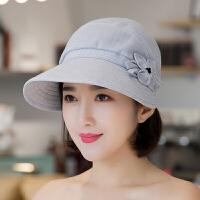 老年帽子女春秋老人帽薄款夏季妈妈帽春夏遮阳布帽中年女士棒球帽