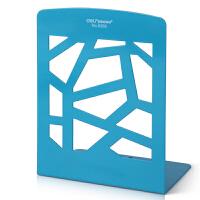 得力9268格状镂空创意书架/书立书本收纳挂架创意礼品 一对  学生文具