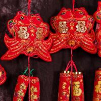 新年春节过年鼠年装饰室内客厅布置挂件节日喜庆辣椒鞭炮婚庆挂饰