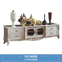 家具欧式电视柜组合小户型客厅柜子实木电视机柜储物地柜G2 组装