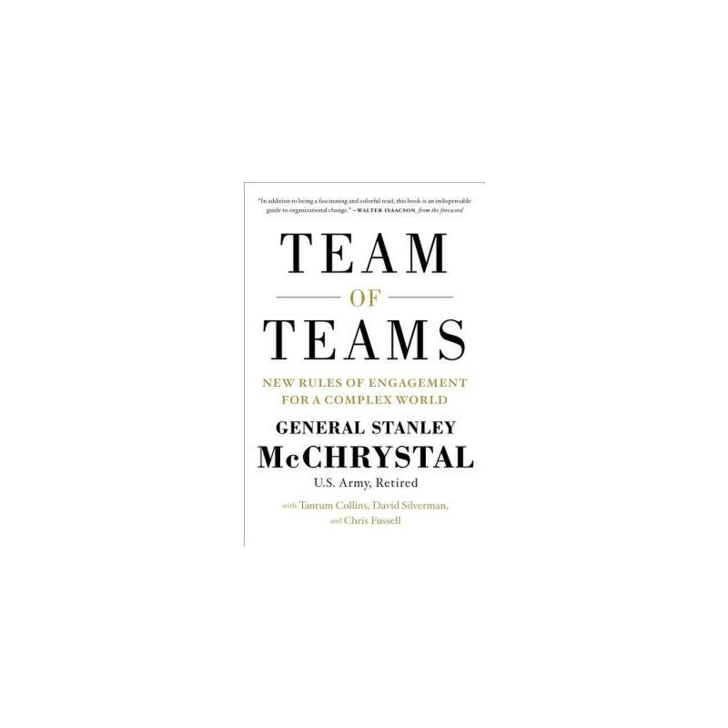 【预订】Team of Teams  New Rules of Engagement for a Complex World 预订商品,需要1-3个月发货,非质量问题不接受退换货。