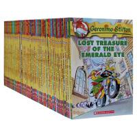 顺丰发货 老鼠记者Geronimo Stilton 11-60 套装 畅销章节小说 全彩插图,故事趣味惊险充满悬疑幽默,牢牢抓住孩子的眼球 附送原装精美环保袋 让孩子顺利过渡到章节读本阅读