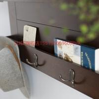 纯实木墙壁置物架客厅架玄关柜壁柜吊柜收纳柜置物柜阳台柜储物柜