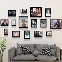 黑白照片墙相框墙赫本梦露复古怀旧挂画服装店装饰壁画创意相片墙