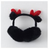 韩版卡通可爱学生少女心折叠毛绒防冻耳包保暖耳罩女圣诞鹿角耳罩