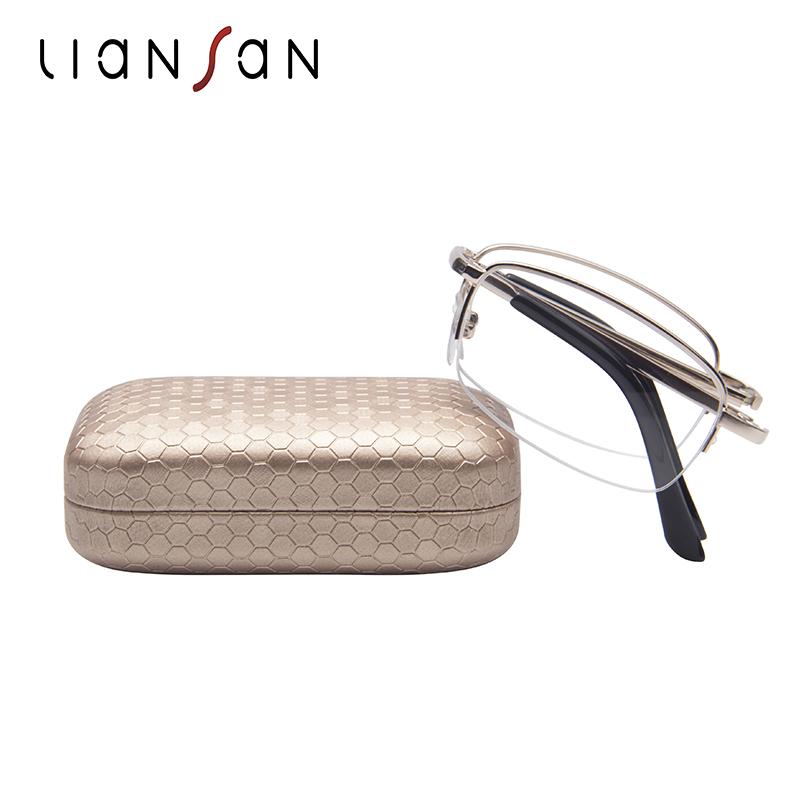恋上(LianSan)老花眼镜单光折叠老花镜男女款耐摔加硬耐磨超轻老视镜 L3012