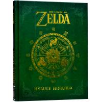 塞尔达传说海拉尔编年史 英文原版书 The Legend of Zelda Hyrule Historia 游戏设定集