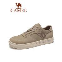 camel骆驼男鞋厚底工装帆布鞋2019春季新款复古潮流板鞋韩版休闲运动鞋
