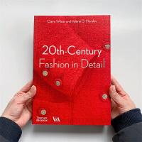 服装设计作品集 20th Century Fashion in Detail 20世纪时尚细节 现代时尚服装史 服装设计书籍