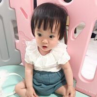 婴儿宝宝可爱春款裤子宝宝6个月1岁新生儿外出衣服季短裤