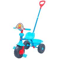 【当当自营】FisherPrice费雪儿童三轮手推车1~3岁宝宝脚踏车拆叠滑行车儿童可坐人玩具车139001