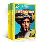 英文原版绘本 美国国家地理 National Geographic KIDS Readers 3阶10册儿童百科图书