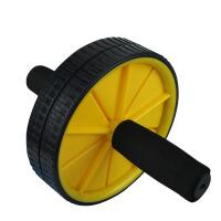 健腹轮腹肌轮腹轮滚轮双轮健腹器室内健身器材家用体育用品腹肌健身推轮懒人