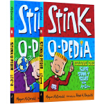 【英文原版】Stink-O-Pedia系列:Super Stink-Y Stuff From A to Zzzzz 2