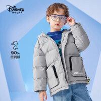 【2件4折券后价:309.8元】迪士尼童装男童羽绒服儿童冬装宝宝洋气厚外套洋气