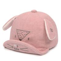 宝宝鸭舌帽婴儿帽男女童鸭舌帽秋小孩棒球帽棉