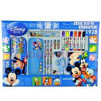 迪士尼学习文具礼盒 米奇小学生文具套装男女儿童学习用品Z6977
