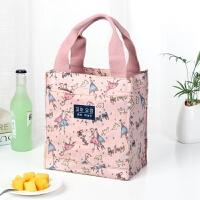 保温饭盒袋加厚铝箔防水帆布放饭盒包方手拎包餐盒便当袋子手提袋