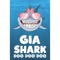 【预订】Gia - Shark Doo Doo Doo: Blank Ruled Personalized & Cus