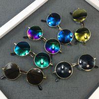 夏季复古圆形框太子镜男女儿童太阳镜时尚宝宝眼镜婴儿墨镜 潮
