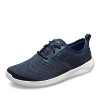 【秒杀价】Crocs男鞋春季2019新款LiteRide酷网运动休闲透气系带鞋|205678 男士LiteRide酷网