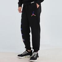 Nike耐克加绒长裤男裤秋冬季新款AJ运动服休闲束脚裤子CU9147