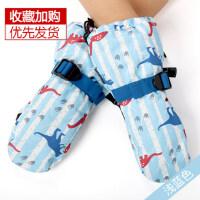 包指卡通韩版连指滑雪可爱连指儿童手套保暖加厚加绒男女童