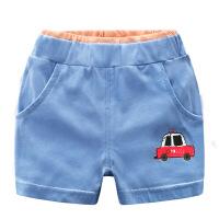 儿童短裤男童纯棉裤子2018夏季新款休闲裤薄款4外穿2小童5潮1-3岁
