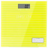 得力8880 家用电子健康秤 体重秤 绿色