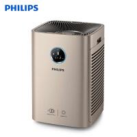 飞利浦(PHILIPS)空气净化器 除雾霾 除甲醛 颗粒物CADR:710立方米 同屏数显 手机智控 AC6675/0