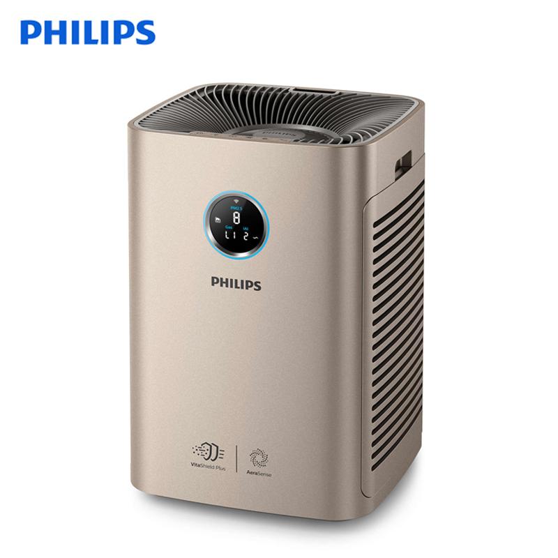 飞利浦(PHILIPS)空气净化器 除雾霾 除甲醛 颗粒物CADR:710立方米 同屏数显 手机智控 AC6675/00 多种模式,双重过滤,去除甲醛、PM2.5 异味