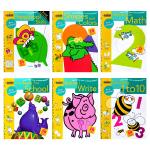 正版 数学/写作/数字/形状/颜色认知/学习能力 英文原版 Preschool 兰登美国学龄前儿童练习册6册 Gold