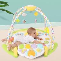 婴儿健身架器脚踏钢琴0-3-6个月1岁新生儿宝宝早教音乐玩具