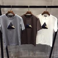 帅小码短袖印花打底衫男士修身半袖T恤小个子XS