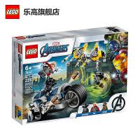 【当当自营】LEGO乐高积木 漫威超级英雄系列76142 复仇者联盟极速战车攻击 6岁+ 玩具礼物 2020年3月新品