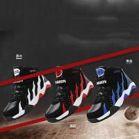 乌龟先森 儿童运动鞋 男童防滑透气中高帮板鞋冬季新款韩版时尚中大童男孩子柔软舒适篮球鞋儿童鞋子