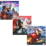 漫威复仇者联盟 英文原版绘本 Iron Man 迪士尼系列3册3CD 同名经典电影图画故事书