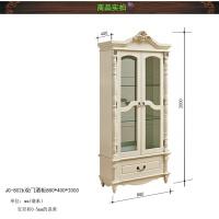 欧式酒柜立柜储物柜现代简约客厅柜子靠墙多功能落地式餐厅柜 单门
